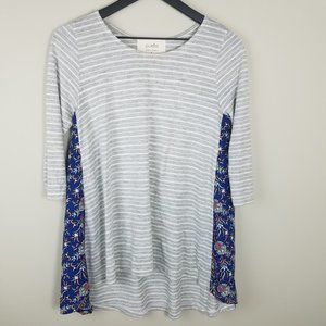 ANTHROPOLOGIE Puella Pattern Play Swing Tunic   S